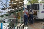 Heridos en construcción