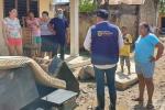 Emergencia por fuertes lluvias en El Carmen de Bolívar