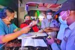 Fiesta clandestina en Cartagena