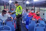 Control a transporte urbano.