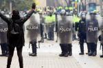 Abuso en protestas