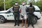 El capturado fue puesto a disposición de la Fiscalía General de la Nación