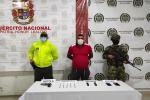 La captura ser llevó a cabo en Montería