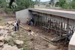 Las lluvias no causó daño alguno en la estructura del puente en repotenciación