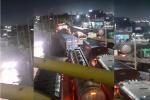 Trancon en puente Pumarejo