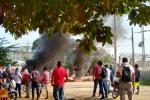 Protestas Zona Industrial de Mamonal