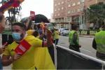 Protestas por partido de Colombia vs Argentina.
