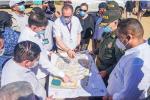 Autoridades evalúan los planes de la nueva obra penitenciaria