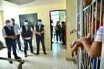 Recorrido del defensor del pueblo en los Centros de Detención Transitoria de Cartagena
