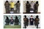 Policía Captura a  cuatro personas dedicadas a la comercialización de estupefacientes en Sincelejo, Ovejas y Guaranda.
