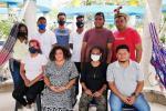 Jóvenes que se encuentran en huelga de hambre en Riohacha