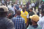 Alcalde en dialogo con la comunidad de Bayunca por protestas ante falta de alcantarillado