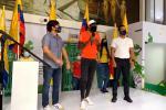 Condecoración a Anthony Zambrano en Barranquilla