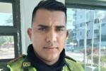 Patrullero Hernán Vásquez.