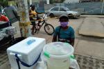 Miles de haitianos han salido de Necoclí