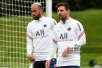Messi y Neymar, PSG