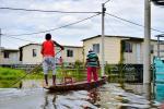 Las inundaciones generadas por el rio de Cauca en la región de la Mojana y el San Jorge han dejado a la fecha 44 764 personas y 18 749 familias damnificados