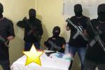 Banda delincuencial grabó video con amenazas