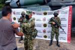 Se entregó voluntariamente en el municipio de San Pablo, sur de Bolíar