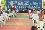 Destacar el desarrollo del proceso de paz con legalidad