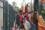 Los haitianos fueron sorprendidos por la Policía de Carreteras, viajando en un bus intermunicipal por el municipio de Bosconia, Cesar.