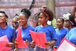Niños de la zona insular de Cartagena llegan con su música al Teatro Colón en Bogotá