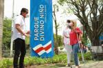 ¡Volvió la esperanza! Gobernación del Atlántico inauguró parque Divino Niño en Sabanalarga