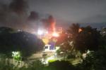 Incendio en subestación de Barranquilla.