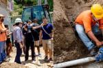 Ha ejecutado en menos de 20 días la instalación y reposición de más de 1.200 metros de redes de acueducto y alcantarillado