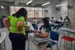 Los estudiantes y docentes celebran el retorno progresivo a clases, aseguran que el aprendizaje es mas fácil