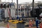 Subestación eléctrica en El Silencio
