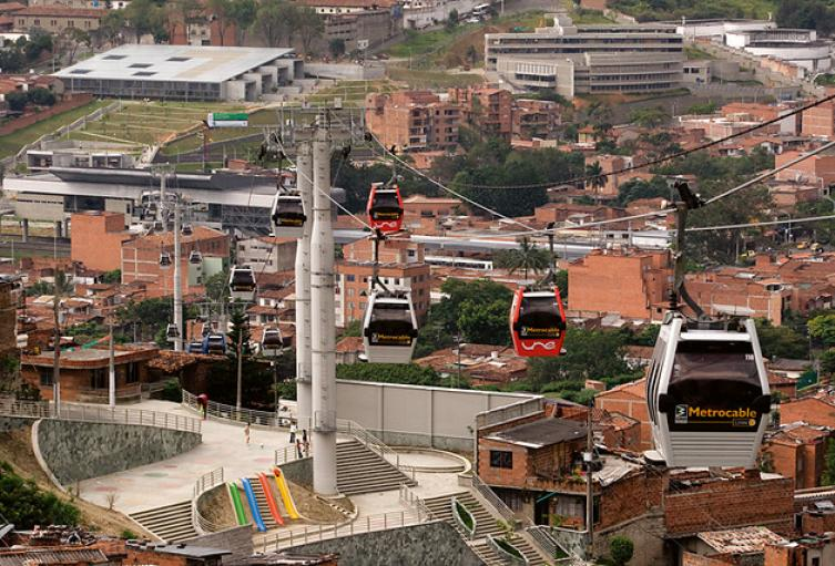 Comuna 13 de Medellín.