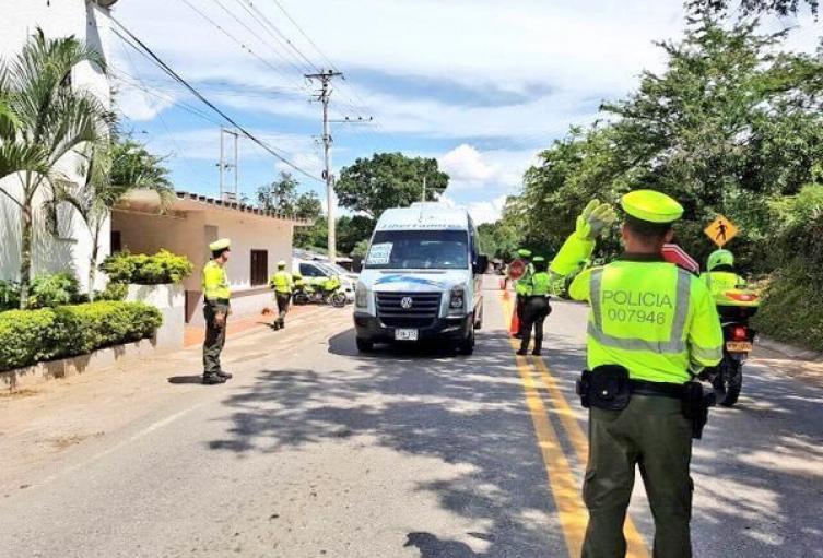 La Policía de Tránsito reporta normalidad en esta carretera.