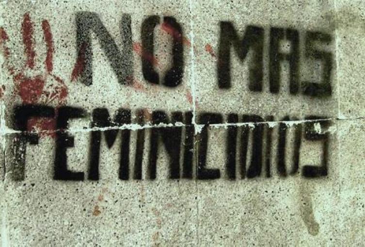 Imagen de las campañas en contra del feminicidio.
