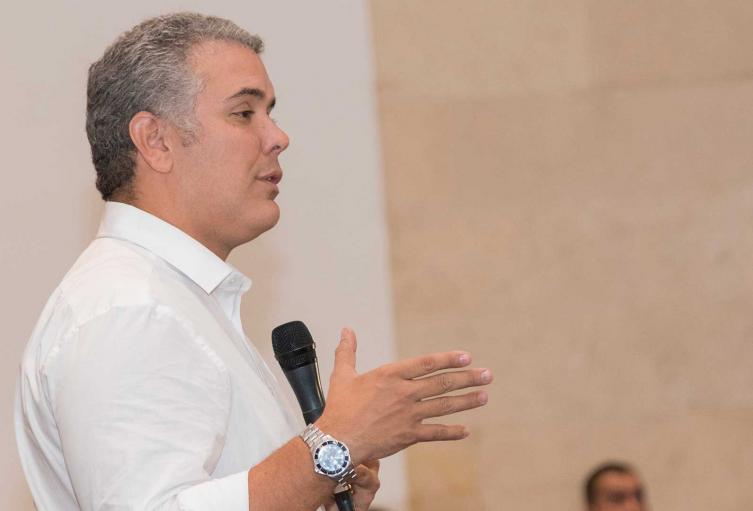 Presidente Iván Duque Márquez