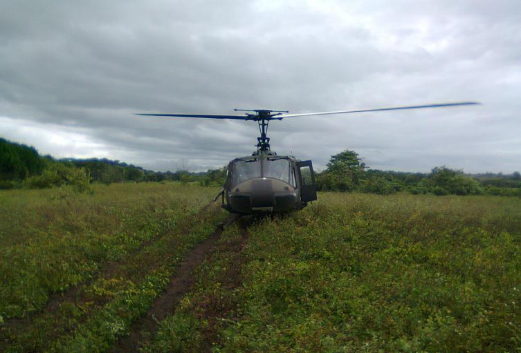 El combate se registró en zona rural de Puerto Escondido.
