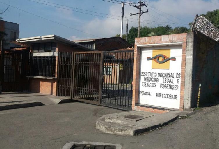 Sede de Medicina Legal en Medellín.