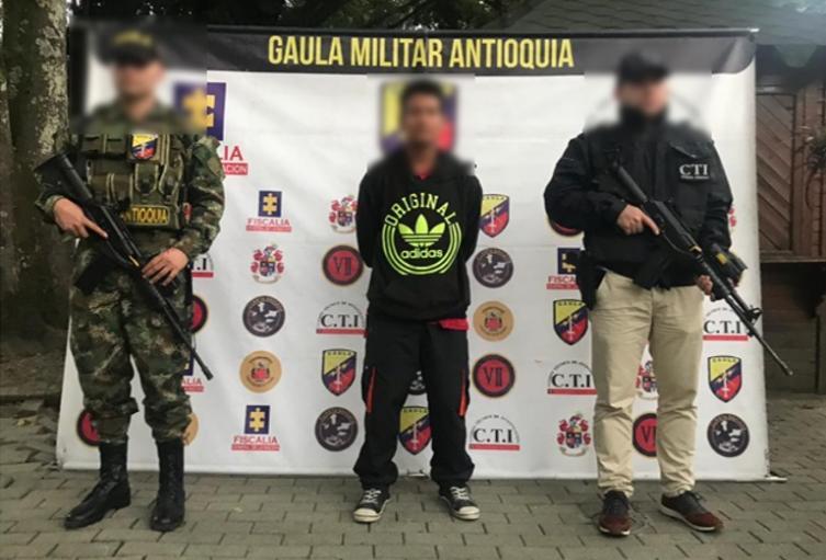 El hecho sucedió el pasado mes de marzo en Ituango, norte de Antioquia