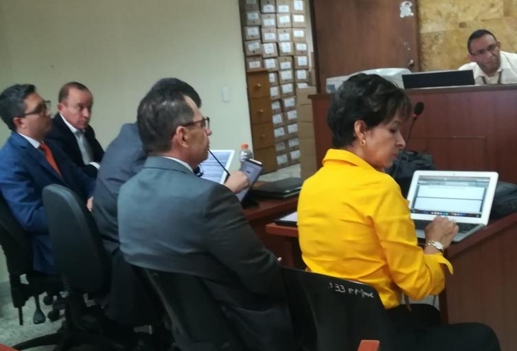 Juicio contra Santiago Uribe