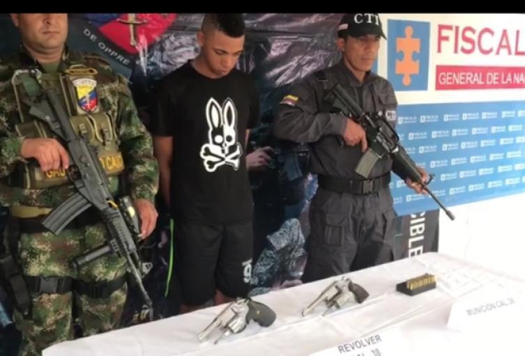 Uno de los presuntos implicados en asesinato de médico en El Bagre, Antioquia.