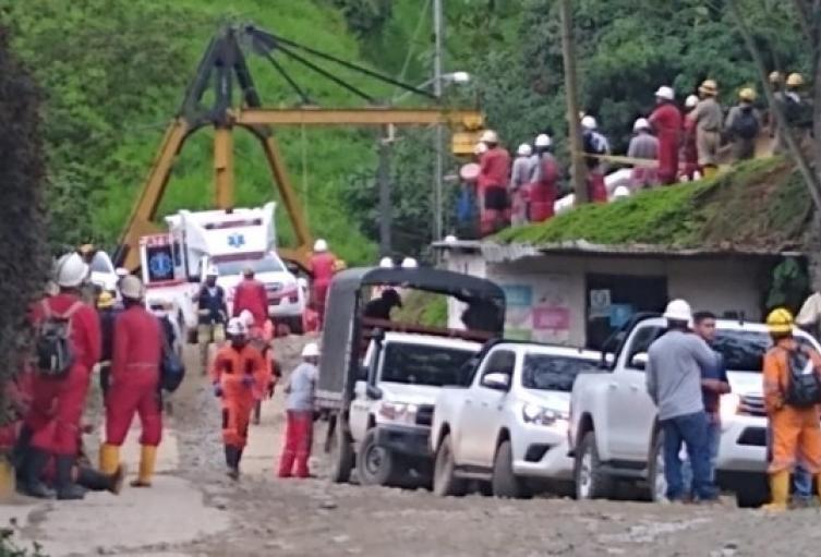 Mina La Providencia en Remedios, Antioquia.