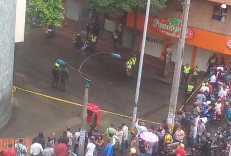 Homicidios en el centro de Medellín