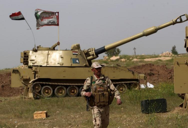 Suspenden entrenamientos militares en Irak