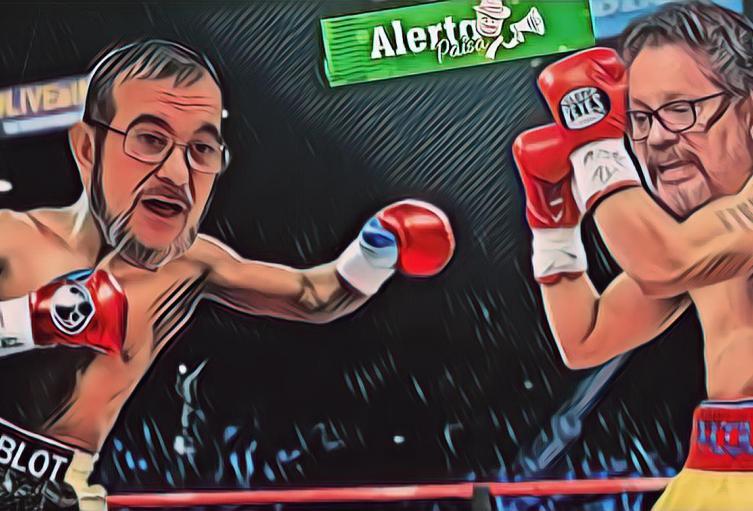 Timochenko vs Ivan Márquez