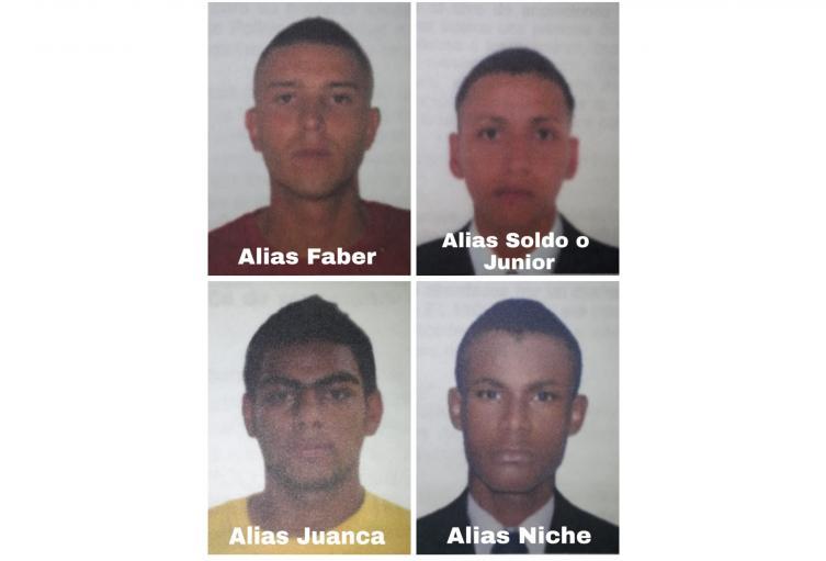 """Acusan a presuntos sicarios de """"La Agonía"""" por 8 homicidios en Medellín"""