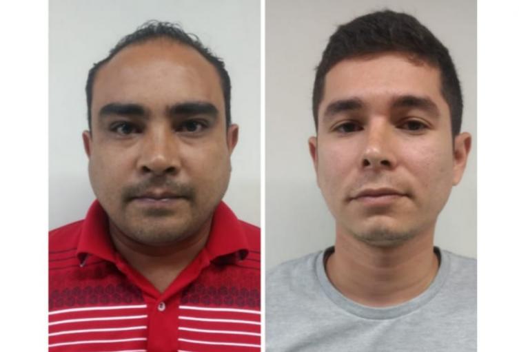 Dos policías activos fueron capturados en Caucasia , Antioquia.