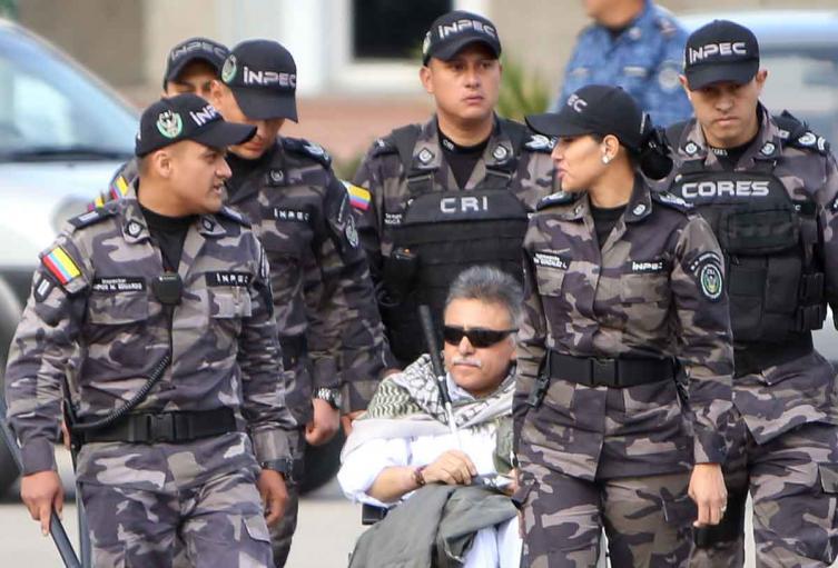 'Jesús Santrich' en cárcel La Picota 17 mayo de 2019