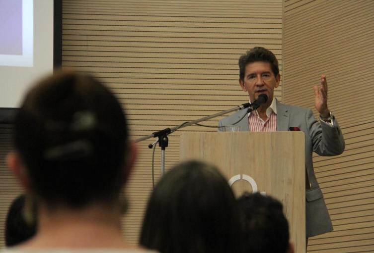 El gobernador de Antioquia, Luis Pérez Gutiérrez