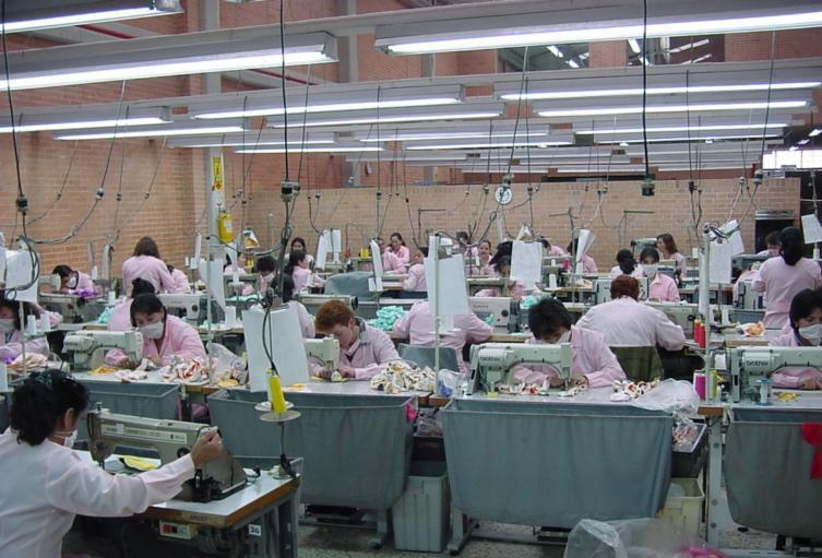 Industria textil.