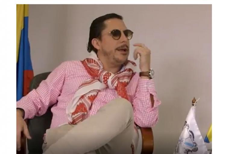 Juanpis González entrevistó a Jesús Santrich pero fue mordaz y contundente.
